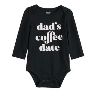 "NWT. JUMPING BEANS ""Dad's Coffee Date"""